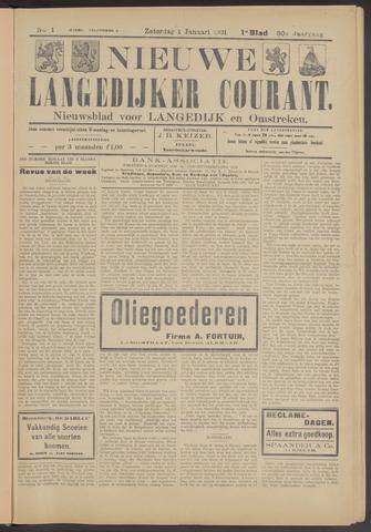 Nieuwe Langedijker Courant 1921