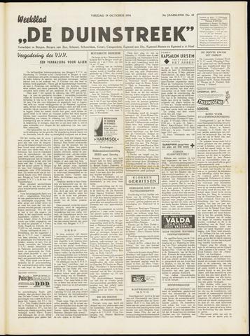 De Duinstreek 1954-10-29