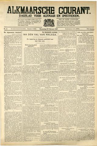 Alkmaarsche Courant 1937-02-10