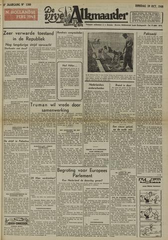 De Vrije Alkmaarder 1948-10-19