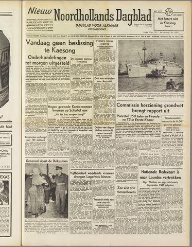 Nieuw Noordhollandsch Dagblad : voor Alkmaar en omgeving 1951-07-20