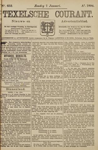 Texelsche Courant 1894-01-07