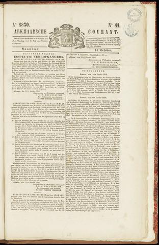 Alkmaarsche Courant 1850-10-14