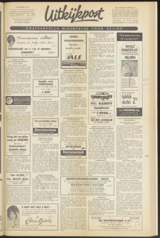 Uitkijkpost : nieuwsblad voor Heiloo e.o. 1969-09-10