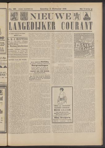 Nieuwe Langedijker Courant 1925-11-14