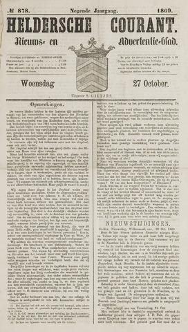 Heldersche Courant 1869-10-27