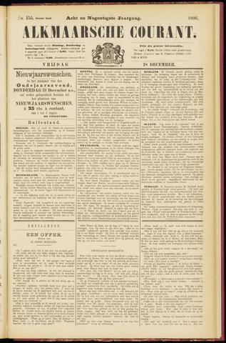 Alkmaarsche Courant 1896-12-18