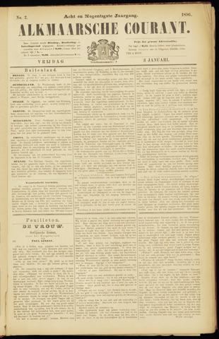 Alkmaarsche Courant 1896-01-03