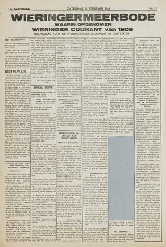 Wieringermeerbode 1942-02-28