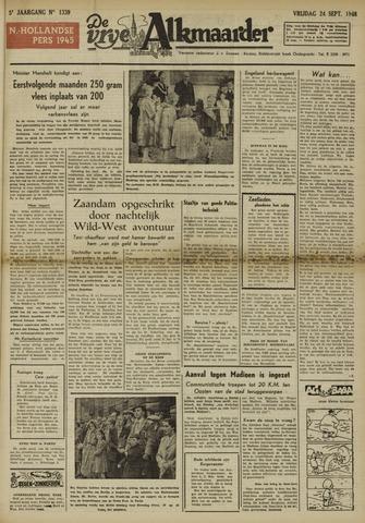 De Vrije Alkmaarder 1948-09-24