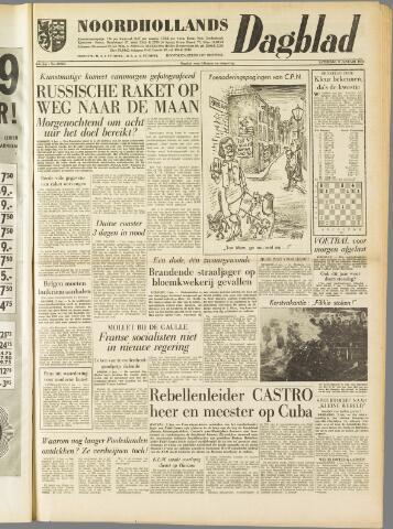 Noordhollands Dagblad : dagblad voor Alkmaar en omgeving 1959-01-03