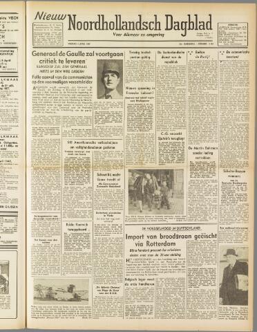 Nieuw Noordhollandsch Dagblad : voor Alkmaar en omgeving 1947-04-04