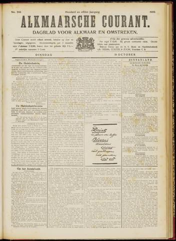 Alkmaarsche Courant 1909-10-19