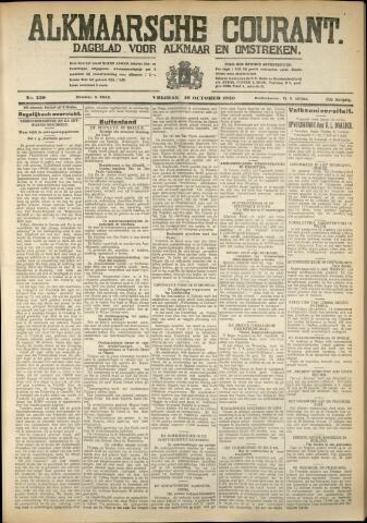 Alkmaarsche Courant 1930-10-10