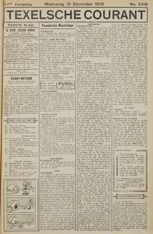 Texelsche Courant 1938-12-21