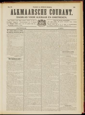 Alkmaarsche Courant 1911-05-13