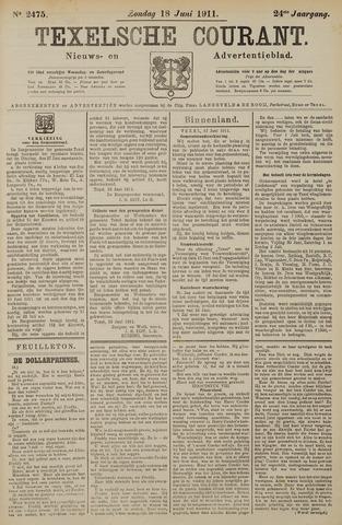 Texelsche Courant 1911-06-18