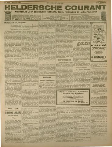 Heldersche Courant 1931-04-16
