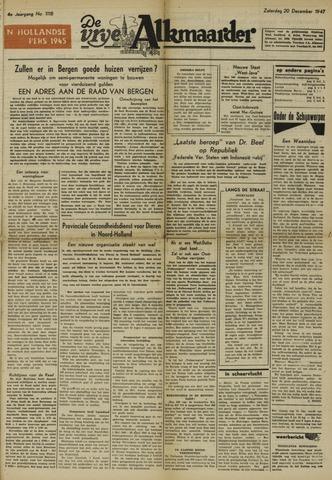 De Vrije Alkmaarder 1947-12-20