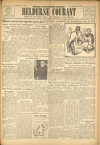 Heldersche Courant 1949-11-04
