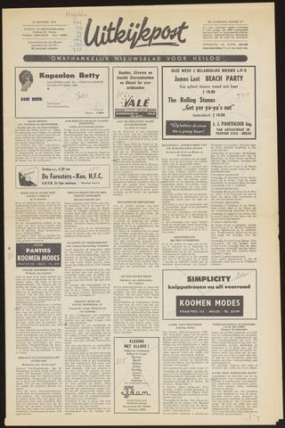 Uitkijkpost : nieuwsblad voor Heiloo e.o. 1970-09-23