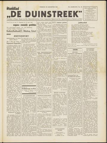 De Duinstreek 1948-08-20