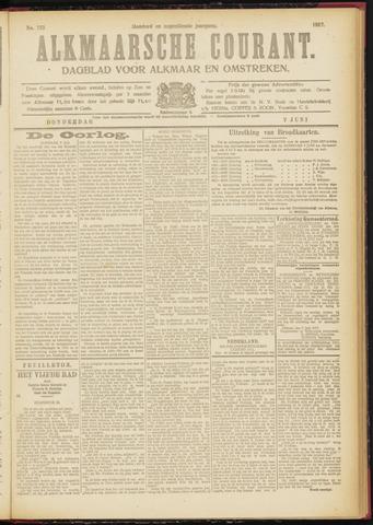 Alkmaarsche Courant 1917-06-07