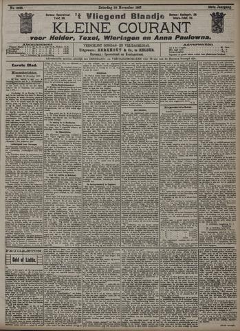 Vliegend blaadje : nieuws- en advertentiebode voor Den Helder 1907-11-23