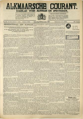 Alkmaarsche Courant 1937-11-20