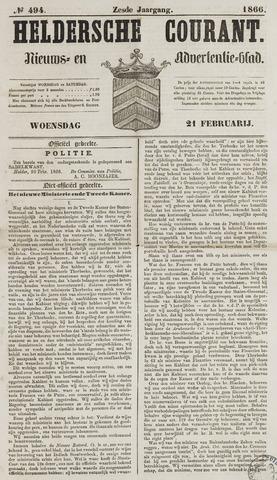 Heldersche Courant 1866-02-21