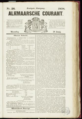Alkmaarsche Courant 1858-06-28