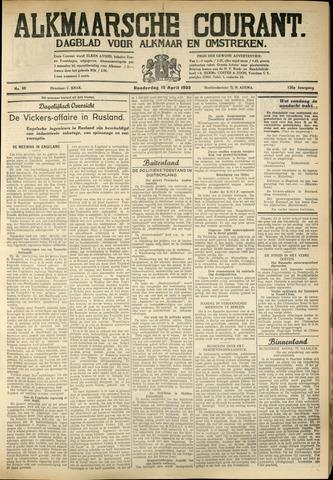 Alkmaarsche Courant 1933-04-13