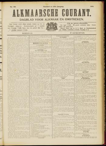 Alkmaarsche Courant 1909-08-17