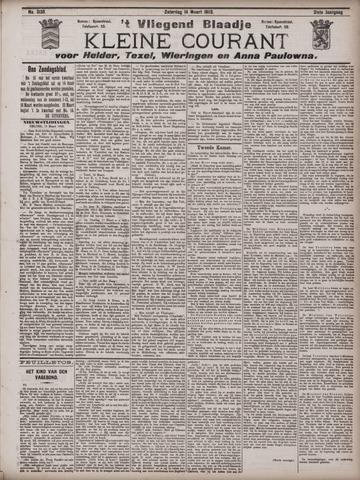 Vliegend blaadje : nieuws- en advertentiebode voor Den Helder 1903-03-14