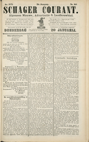 Schager Courant 1876