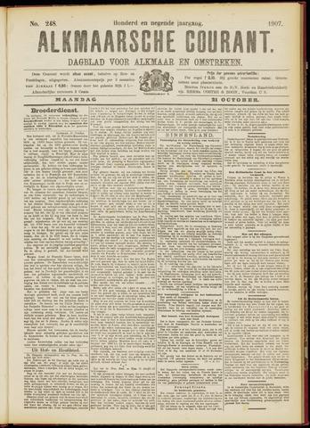 Alkmaarsche Courant 1907-10-21