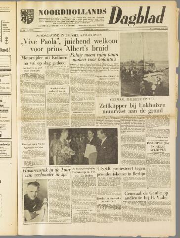 Noordhollands Dagblad : dagblad voor Alkmaar en omgeving 1959-06-29