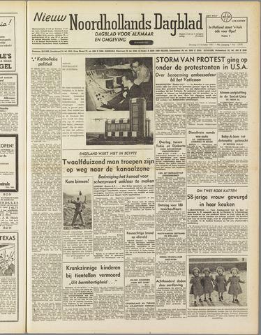 Nieuw Noordhollandsch Dagblad : voor Alkmaar en omgeving 1951-10-23
