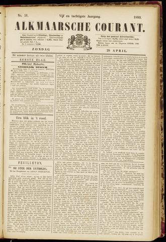 Alkmaarsche Courant 1883-04-29