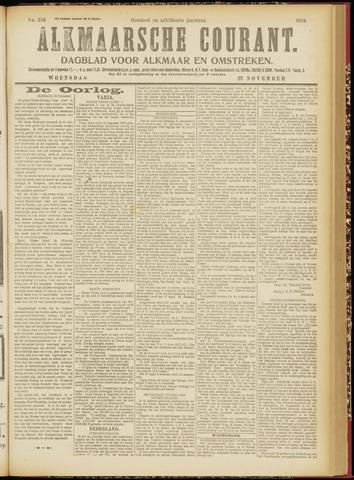 Alkmaarsche Courant 1916-11-22