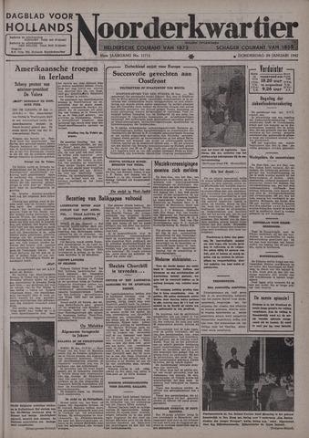 Dagblad voor Hollands Noorderkwartier 1942-01-29