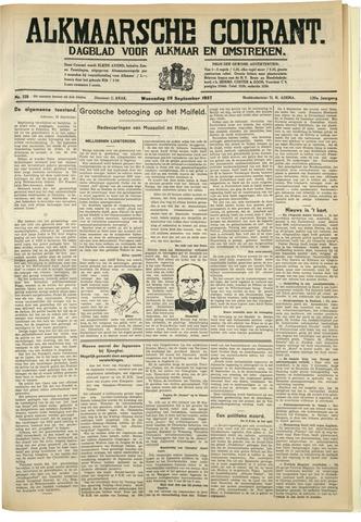Alkmaarsche Courant 1937-09-29