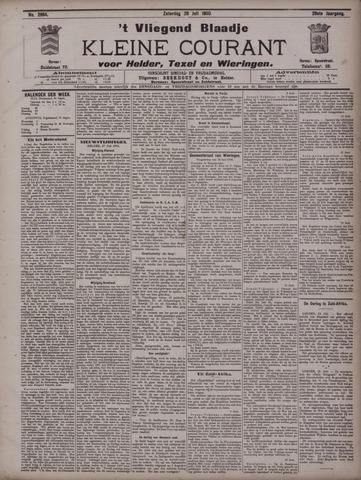 Vliegend blaadje : nieuws- en advertentiebode voor Den Helder 1900-07-28