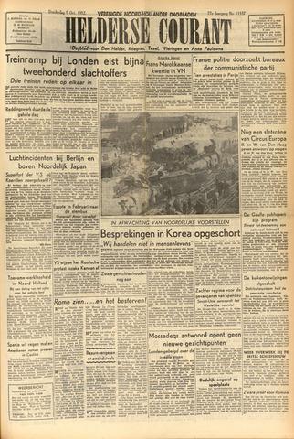Heldersche Courant 1952-10-09
