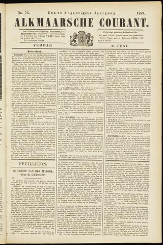 Alkmaarsche Courant 1889-06-21