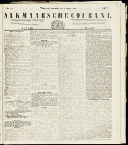 Alkmaarsche Courant 1870-03-06
