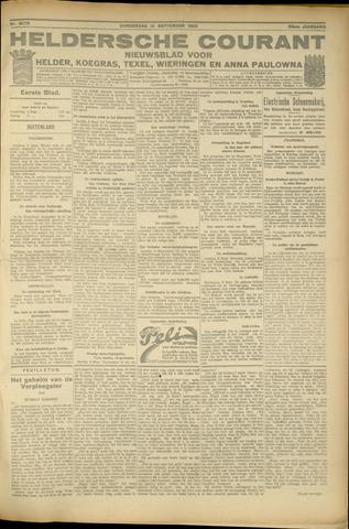 Heldersche Courant 1925-09-10