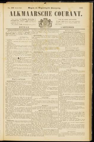 Alkmaarsche Courant 1897-09-05