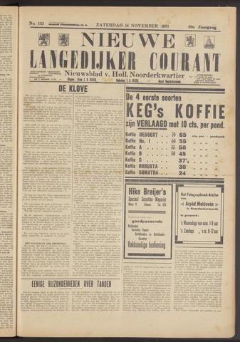 Nieuwe Langedijker Courant 1931-11-14
