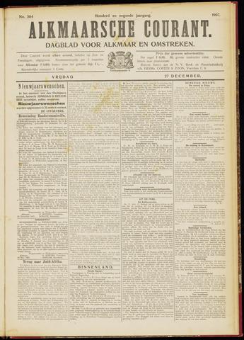 Alkmaarsche Courant 1907-12-27